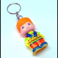 Otras Muñecas de Famosa: PINYPON PIN Y PON LLAVERO CHICO CHICA. Lote 177132803