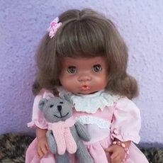 Otras Muñecas de Famosa: MUÑECA NENUCA MULATA 1989 DIFÍCIL DE ENCONTRAR. Lote 175328947