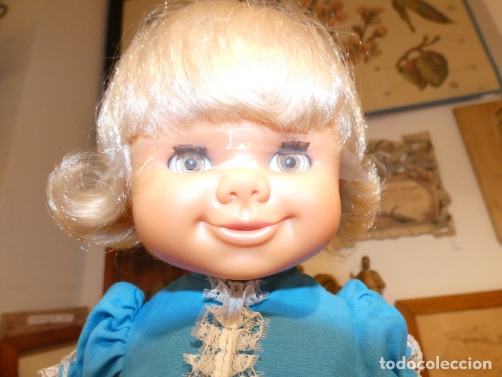 Otras Muñecas de Famosa: Muñeca Polilla de famosa, en caja original y sin uso, conserva cinta que sujeta los ojos. 35 cms. - Foto 3 - 177310777