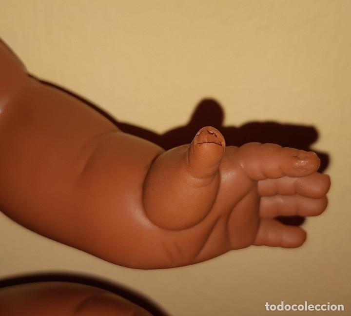 Otras Muñecas de Famosa: MUÑECA MAY NEGRA NEGRO ORIGINAL DE FAMOSA AÑOS 60 -70 OJOS MARGARITA AZULES DURMIENTES - Foto 9 - 177500083