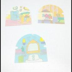 Otras Muñecas de Famosa: PIN Y PON PINYPON FAMOSA CASA GRANDE VENTANAS PAPEL DECORACION. Lote 177638144
