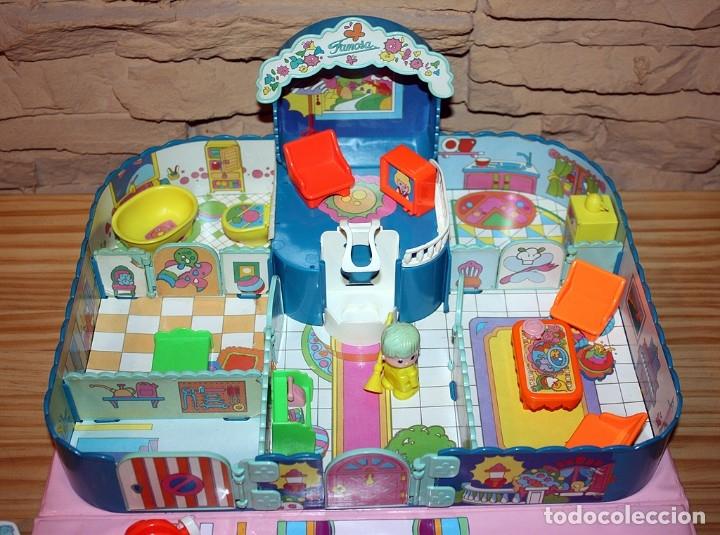 Otras Muñecas de Famosa: CASA MALETÍN DE PIN Y PON DE FAMOSA - MODELO AZUL - 2212 - MUY COMPLETO - BUEN ESTADO - DIFICIL - Foto 2 - 177835233