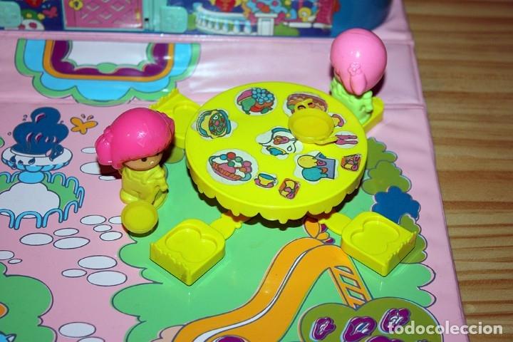 Otras Muñecas de Famosa: CASA MALETÍN DE PIN Y PON DE FAMOSA - MODELO AZUL - 2212 - MUY COMPLETO - BUEN ESTADO - DIFICIL - Foto 4 - 177835233