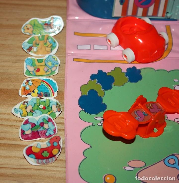 Otras Muñecas de Famosa: CASA MALETÍN DE PIN Y PON DE FAMOSA - MODELO AZUL - 2212 - MUY COMPLETO - BUEN ESTADO - DIFICIL - Foto 7 - 177835233