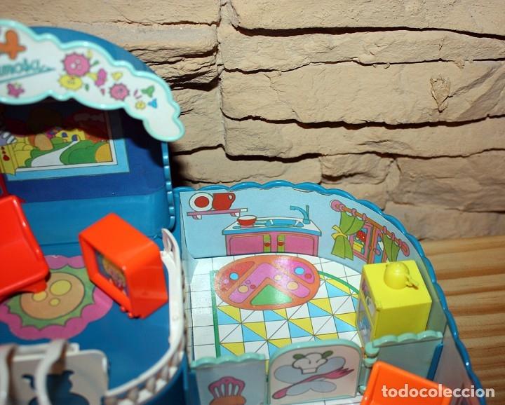 Otras Muñecas de Famosa: CASA MALETÍN DE PIN Y PON DE FAMOSA - MODELO AZUL - 2212 - MUY COMPLETO - BUEN ESTADO - DIFICIL - Foto 9 - 177835233