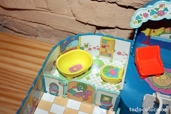 Otras Muñecas de Famosa: CASA MALETÍN DE PIN Y PON DE FAMOSA - MODELO AZUL - 2212 - MUY COMPLETO - BUEN ESTADO - DIFICIL - Foto 12 - 177835233