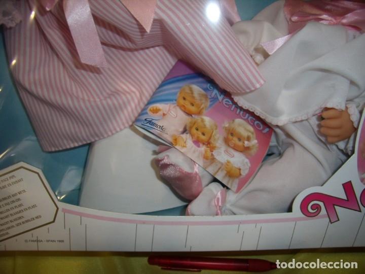 Otras Muñecas de Famosa: Nenuca necuco con vestidos, trousseau de Famosa, año 1988, Nueva sin abrir. - Foto 5 - 178324322