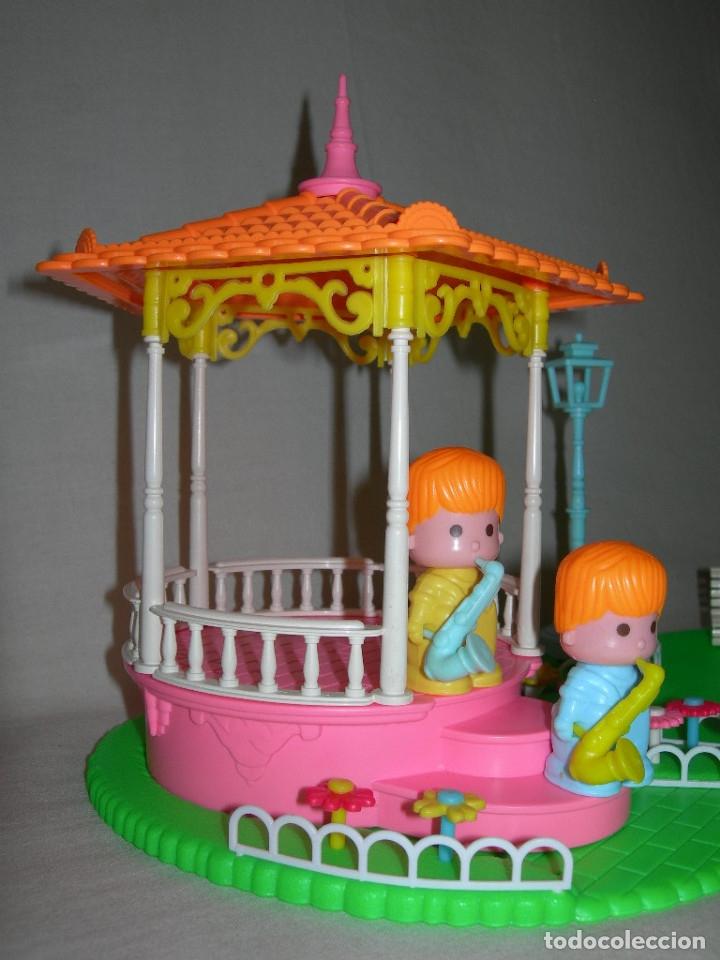 Otras Muñecas de Famosa: DIFÍCIL PARQUE CON MÚSICOS DE PINYPON COMPLETO - ORIGINAL 1ª VERSIÓN AÑO 1984 - PIN Y PON MUSIC PARK - Foto 4 - 220399457
