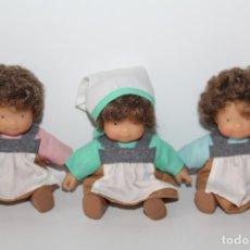 Otras Muñecas de Famosa: MUÑECAS LAS TRES MELLIZAS DE FAMOSA. Lote 179180236