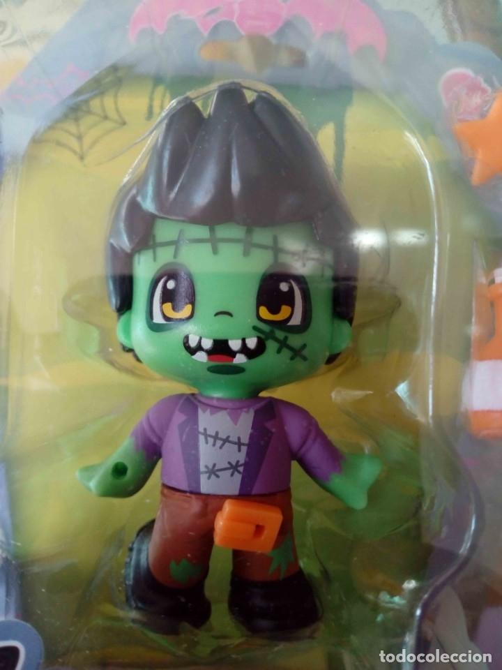 Otras Muñecas de Famosa: Pinypon Serie Monstruos. Frankie (Frankenstein). Famosa. Nuevo - Foto 3 - 180266616