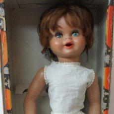Otras Muñecas de Famosa: MUÑECA GÜENDALINA TODA DE CELULOIDE CON CAJA ORIGINAL . VER DESCRIPCIÓN.. Lote 182368892