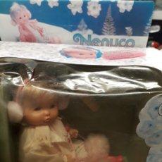 Otras Muñecas de Famosa: NENUCO CON TRINEO EN CAJA, NUEVO DE JUGUETERIA. Lote 182559810