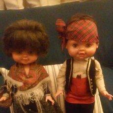 Otras Muñecas de Famosa: PAREJA MUÑECO Y MUÑECA REGIONAL - REGIONALES (MAÑOS - BATURROS) BEGOÑA DE FAMOSA AÑOS 60. Lote 183506270