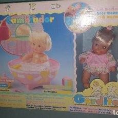 Otras Muñecas de Famosa: MUÑECA GORDITO CON BAÑERA CAMBIADOR DE FAMOSA. Lote 183927325