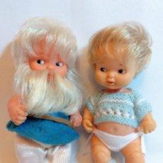Otras Muñecas de Famosa: MUÑECAS BARRIGUITAS GNOMO Y OTRA TAMBIEN DE LOS 70. LOTE Nº73 FAMOSA. Lote 184214928