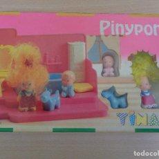 Otras Muñecas de Famosa: PINYPON 2320 EL BAÑO DE TINA EN CAJA SELLADA. Lote 184653053