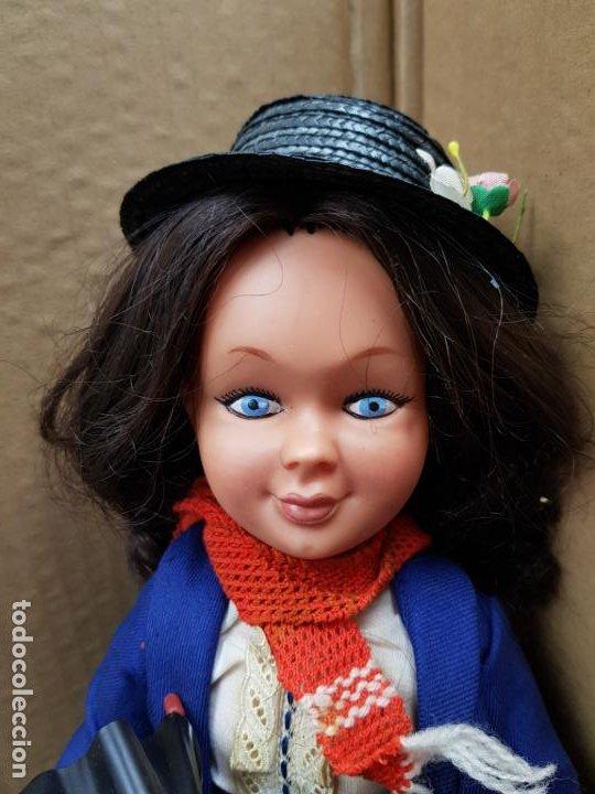 Otras Muñecas de Famosa: Mary Poppins 43 cm. de altura Fabricada en España por Famosa en 1964 - Foto 2 - 187308410