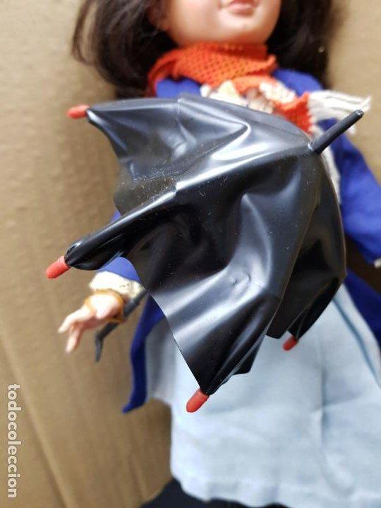 Otras Muñecas de Famosa: Mary Poppins 43 cm. de altura Fabricada en España por Famosa en 1964 - Foto 3 - 187308410