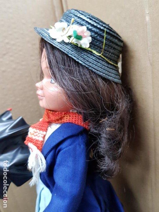 Otras Muñecas de Famosa: Mary Poppins 43 cm. de altura Fabricada en España por Famosa en 1964 - Foto 4 - 187308410