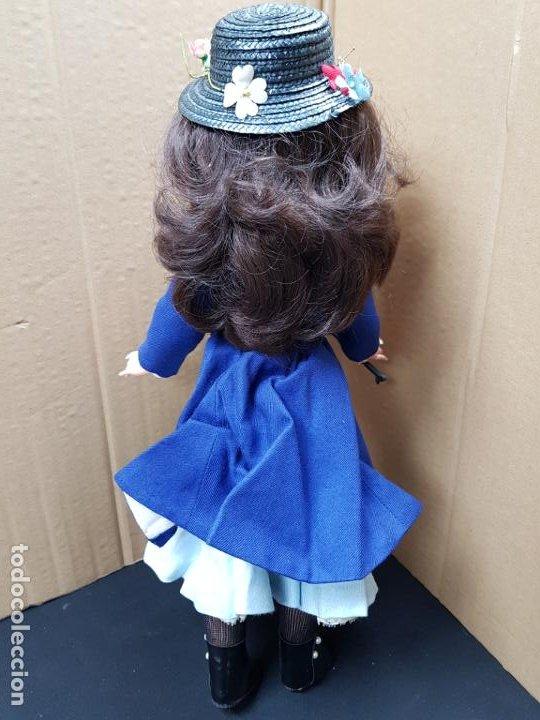 Otras Muñecas de Famosa: Mary Poppins 43 cm. de altura Fabricada en España por Famosa en 1964 - Foto 6 - 187308410