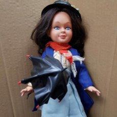 Otras Muñecas de Famosa: MARY POPPINS 43 CM. DE ALTURA FABRICADA EN ESPAÑA POR FAMOSA EN 1964 . Lote 187308410