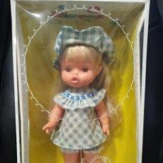 Otras Muñecas de Famosa: NIEVES DE FAMOSA NUEVA SIN USO EN SU CAJA AÑOS 70 ORIGINAL OJOS MARGARITA. Lote 189405585