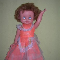 Otras Muñecas de Famosa: ANTIGUA MUÑECA NORA, MARINA, TELVITA O SIMILAR DE FAMOSA CON OJOS IRIS MARGARITA - AÑOS 60 -. Lote 189581763