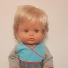 Otras Muñecas de Famosa: MUÑECA NENUCO. FAMOSA. ORIGINAL AÑOS 80. CON VESTIDO.. Lote 189668603