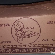 Otras Muñecas de Famosa: MUÑECAS FAMOSA - CAJA VACIA. Lote 190365871