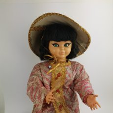 Otras Muñecas de Famosa: MUÑECA PIERINA ORIENTAL CHINA DE FAMOSA AÑOS 60. Lote 191652453