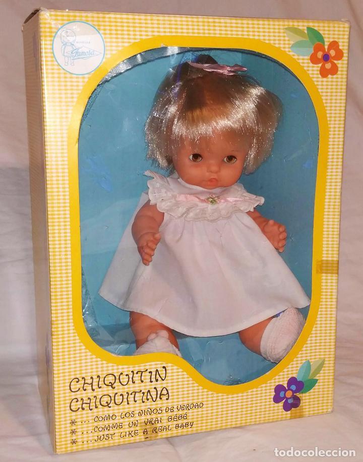 MUÑECA CHIQUITINA / CHIQUITIN AÑOS 70 EN CAJA (Juguetes - Muñeca Española Moderna - Otras Muñecas de Famosa)