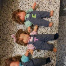 Otras Muñecas de Famosa: MUÑECAS TRES MELLIZAS FAMOSA. Lote 194302560