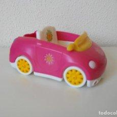 Otras Muñecas de Famosa: COCHE ROSA DE PINYPON DESCAPOTABLE PIN Y PON. Lote 194322713