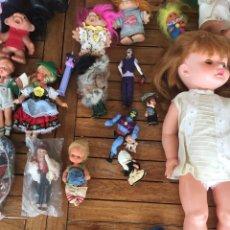 Otras Muñecas de Famosa: LOTE DE MUÑECAS VARIADAS. FAMOSA. NANCY. Lote 194535952
