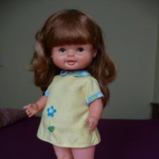 Otras Muñecas de Famosa: GRACIOSA MUÑECA MALENI DE FAMOSA PELIRROJA CON CONJUNTO ORIGINAL EPOCA NANCY AÑOS 70. Lote 194897937