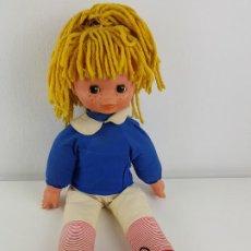Otras Muñecas de Famosa: MUÑECA FAMOSA DE TRAPO OJOS DURMIENTES NEGROS. Lote 195048253