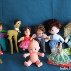 Otras Muñecas de Famosa: LOTE DE MUÑECAS DIFERENTES EPOCAS. FAMOSA. LAZY. ATOSA. Lote 195262061