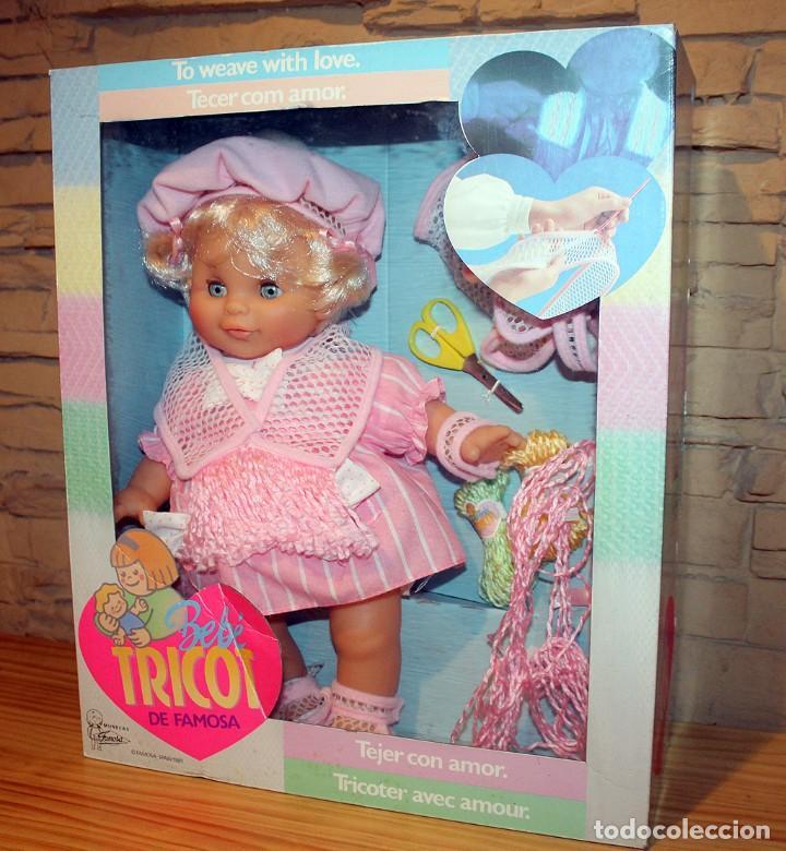 ANTIGUA MUÑECA BEBE TRICOT, DE FAMOSA - AÑO 1989 - NUEVA Y EN SU CAJA ORIGINAL (Juguetes - Muñeca Española Moderna - Otras Muñecas de Famosa)