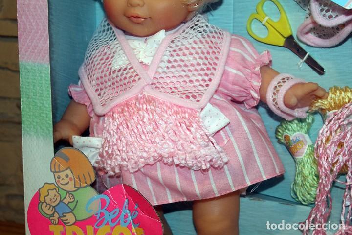 Otras Muñecas de Famosa: ANTIGUA MUÑECA BEBE TRICOT, DE FAMOSA - AÑO 1989 - NUEVA Y EN SU CAJA ORIGINAL - Foto 3 - 195321861