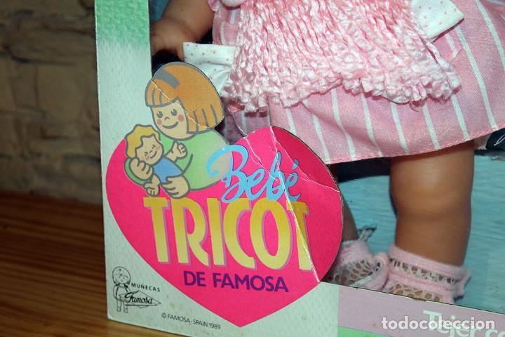 Otras Muñecas de Famosa: ANTIGUA MUÑECA BEBE TRICOT, DE FAMOSA - AÑO 1989 - NUEVA Y EN SU CAJA ORIGINAL - Foto 4 - 195321861