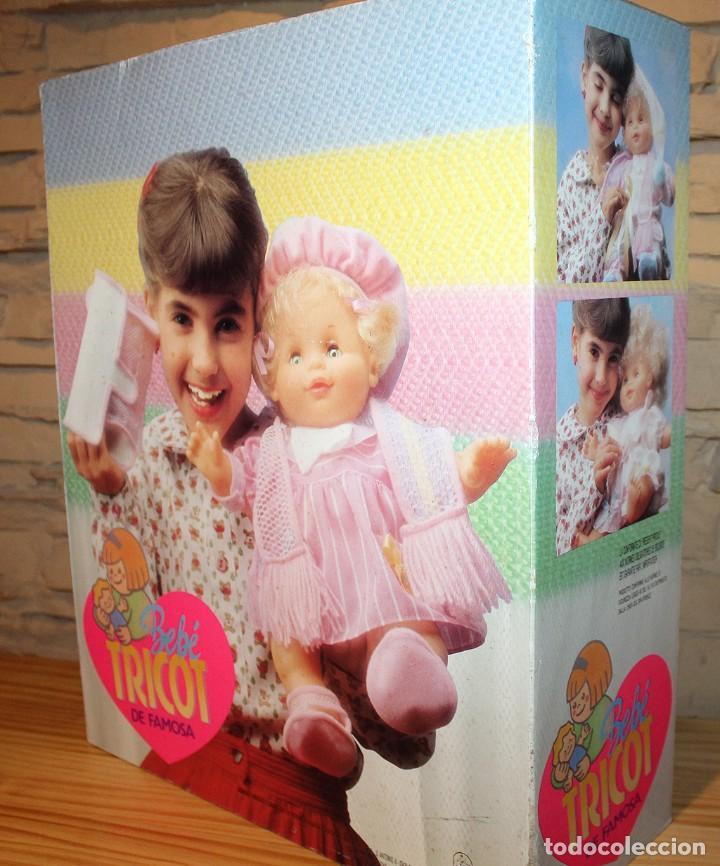 Otras Muñecas de Famosa: ANTIGUA MUÑECA BEBE TRICOT, DE FAMOSA - AÑO 1989 - NUEVA Y EN SU CAJA ORIGINAL - Foto 6 - 195321861