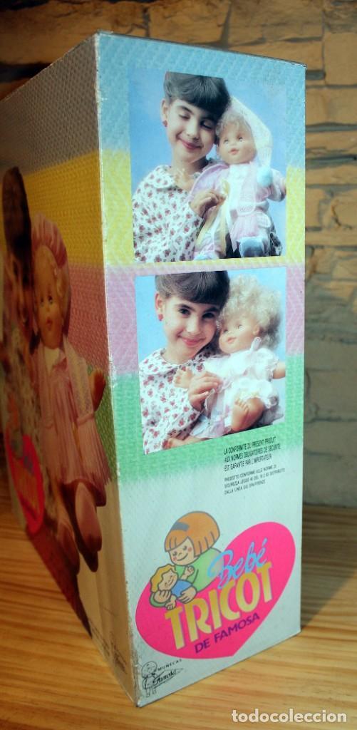 Otras Muñecas de Famosa: ANTIGUA MUÑECA BEBE TRICOT, DE FAMOSA - AÑO 1989 - NUEVA Y EN SU CAJA ORIGINAL - Foto 7 - 195321861