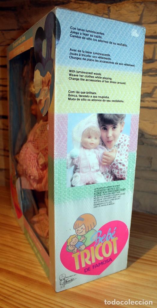 Otras Muñecas de Famosa: ANTIGUA MUÑECA BEBE TRICOT, DE FAMOSA - AÑO 1989 - NUEVA Y EN SU CAJA ORIGINAL - Foto 8 - 195321861
