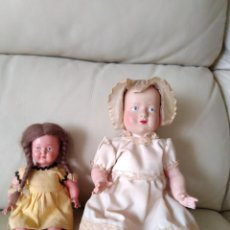 Otras Muñecas de Famosa: BONECAS ANTIGAS TARTARUGA E ÁGUIA. Lote 196162110