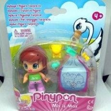 Otras Muñecas de Famosa: FIGURA PIN Y PON PINYPON MIX IS MAX CON SORPRESA. Lote 198634527