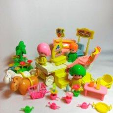 Otras Muñecas de Famosa: MUÑECOS PIN Y PON ANTIGUOS LOTE Nº10 CARROZA SORPRESA REF:2221 CON EXTRAS. Lote 202752471