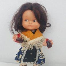 Otras Muñecas de Famosa: MUÑECA RAPACIÑA DE FAMOSA MORENA REGIONAL. Lote 202900198