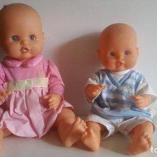 Otras Muñecas de Famosa: PAREJA DE MUÑECOS NENUCOS 2011 / ROPA ORIGINAL. Lote 204748996