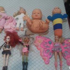 Otras Muñecas de Famosa: PRECIOSO LOTE DE 7 MUÑECAS DE FALCA ..BARBIE ETC DE CELULOIDE. Lote 204987068