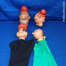 Otras Muñecas de Famosa: MARIONETAS MUÑECOS GUIÑOL POPEYE DE FAMOSA, VER FOTOS! SM. Lote 205018252